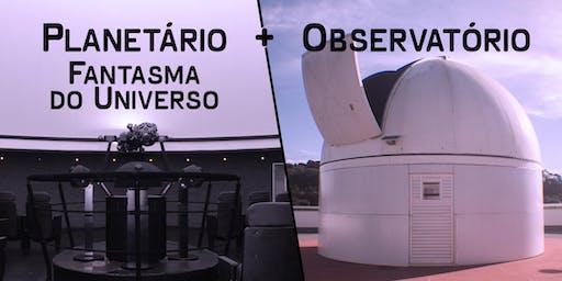 Planetário: Fantasma do Universo + Observatório | Centro de Ciências / UFJF
