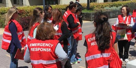 Emergency Response Team (ERT) Training tickets