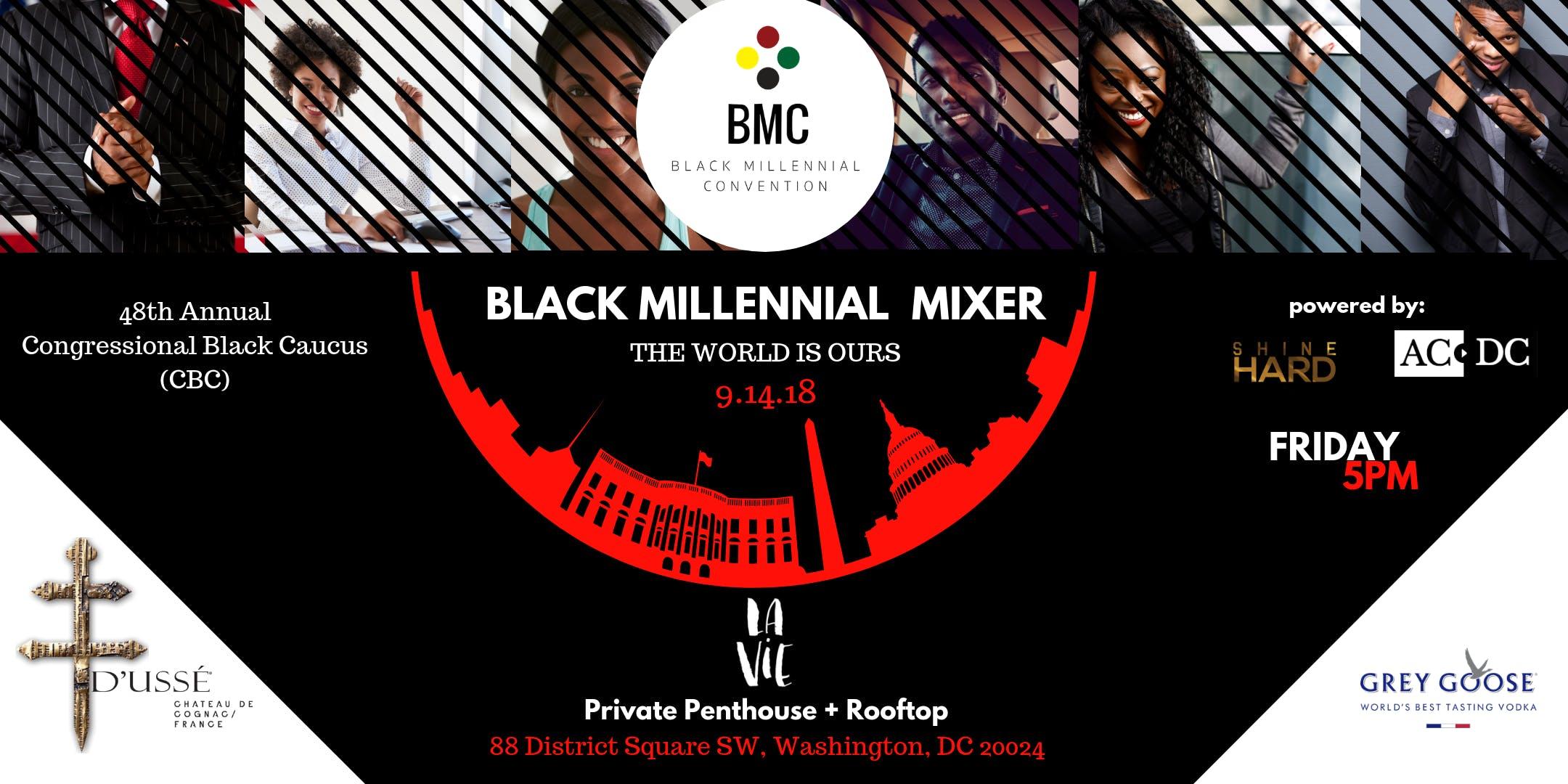 CBC - Black Millennial Mixer at the DC Wharf