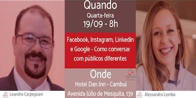 Facebook, Instagram, Linkedin e Google - Como conv