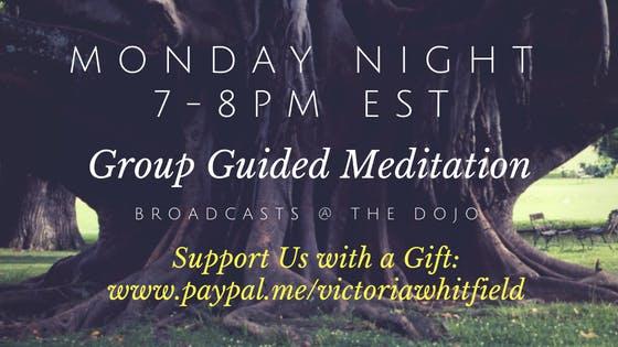 Monday Night Group Guided Meditation