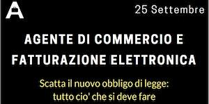 AGENTE DI COMMERCIO E FATTURAZIONE ELETTRONICA