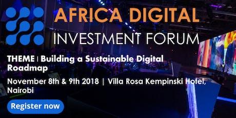 Africa Digital Investment Forum  tickets
