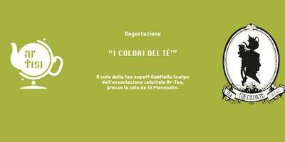 """Degustazione """"I colori del tè"""""""