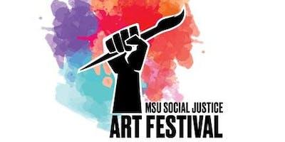 MSU 2nd Annual Social Justice Art Festival
