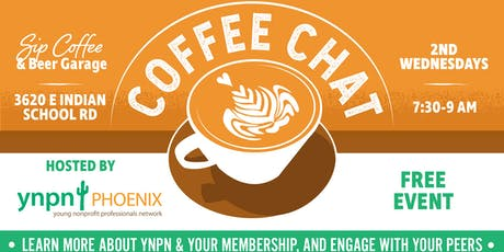 Monthly Coffee Chat with YNPN Phoenix tickets