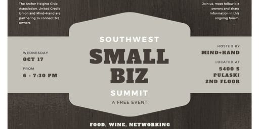 Free chicago il summit events eventbrite southwest small biz summit reheart Images