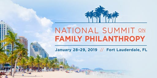 2019 National Summit On Family Philanthropy