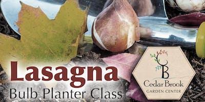 Lasagna Bulb Planter