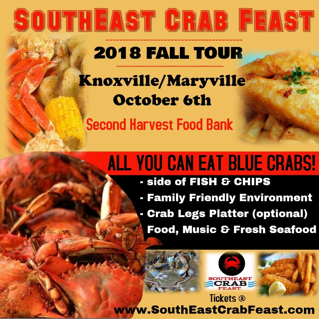 Second Harvest Food Bank : SouthEast Crab Feast - Knoxville