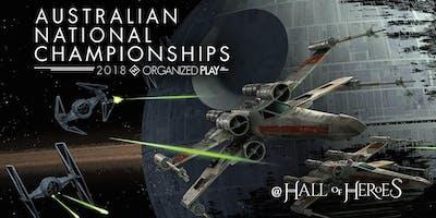 Star Wars X-wing: 2018 Australian National Championship