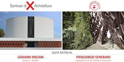 Valore al progetto: design, creatività e innovazione - Seminario di Architettura Lecce