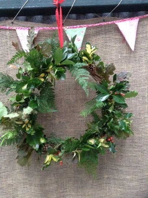 Family Christmas Wreath Making Workshop