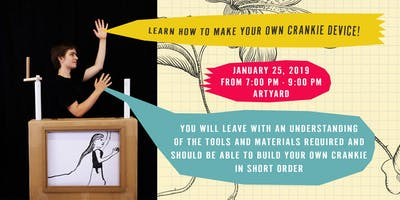 Learn how to Make Your Own Crankie Device!
