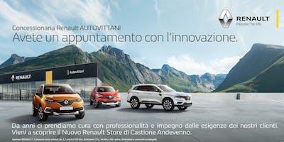 INAUGURAZIONE RENAULT STORE AUTOVITTANI | Castione Andevenno