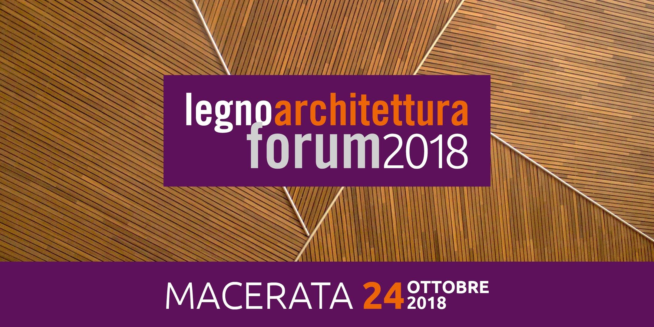 MACERATA - legnoarchitettura forum 2018