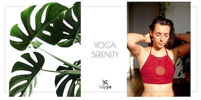 10€ Yoga SERINITY ☾  18h45 pendant l'été