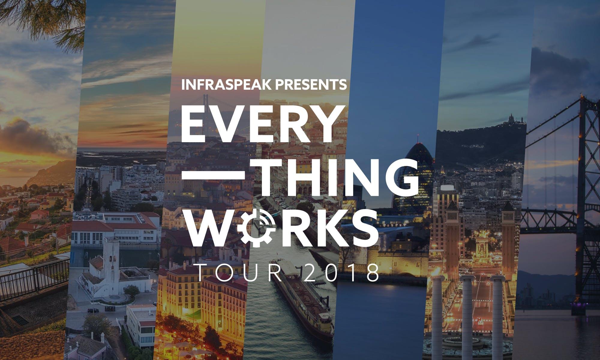 Infraspeak Everything Works Tour 2018 — Lisbo
