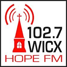 WICX 102.7 HopeFM logo