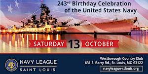 United States Navy's 243rd Birthday Celebration