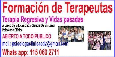 2019 - FORMACIÓN TERAPEUTAS - TERAPIA DE VIDAS PASADAS- REGRESIONES