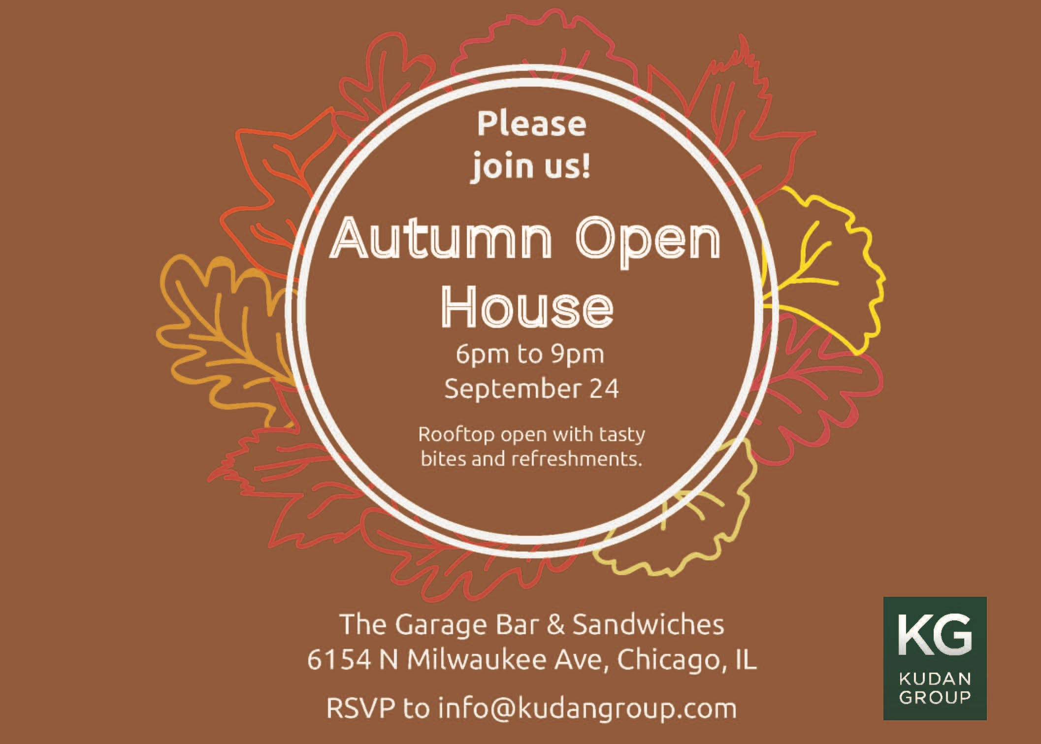 Autumn Open House & Networking Event