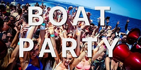 BOAT PARTY| All inclusive + Pool Party tickets