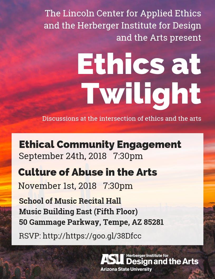 Ethics at Twilight: Ethical Community Engagement