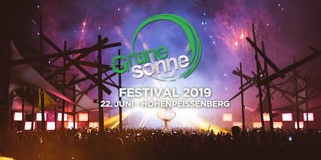 Grüne Sonne Festival 2019 Tickets