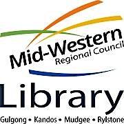 Mid-Western Regional Council Library logo