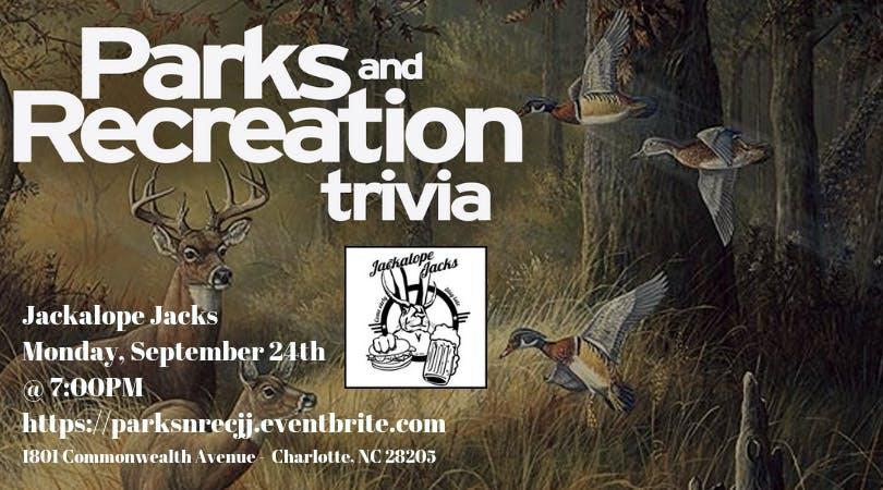 Parks & Rec Trivia @ Jackalope Jacks