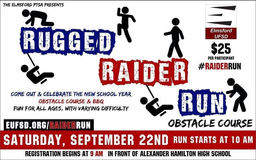 RUGGED RAIDER OBSTACLE RUN