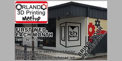 3D Printing: LATEST DEVELOPMENTS, plus SHOW-N-TELL ! Meet Up at FACTUR
