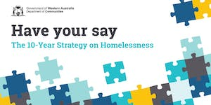 10-Year Strategy on Homelessness Consultations