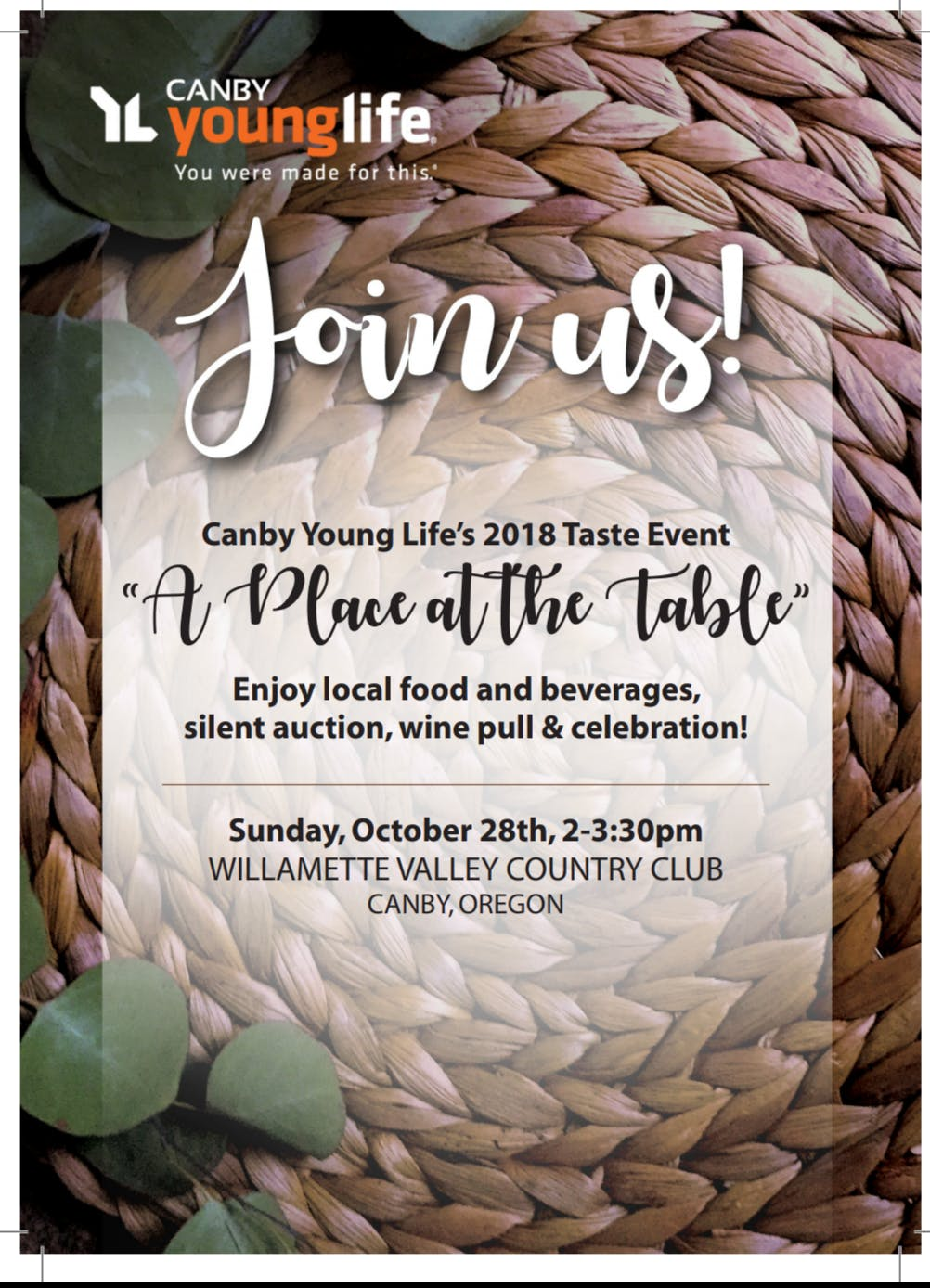 A Place at the Table - Canby Young Life's Taste Event - 28