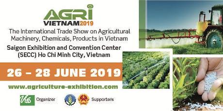 Agri Vietnam 2019 tickets