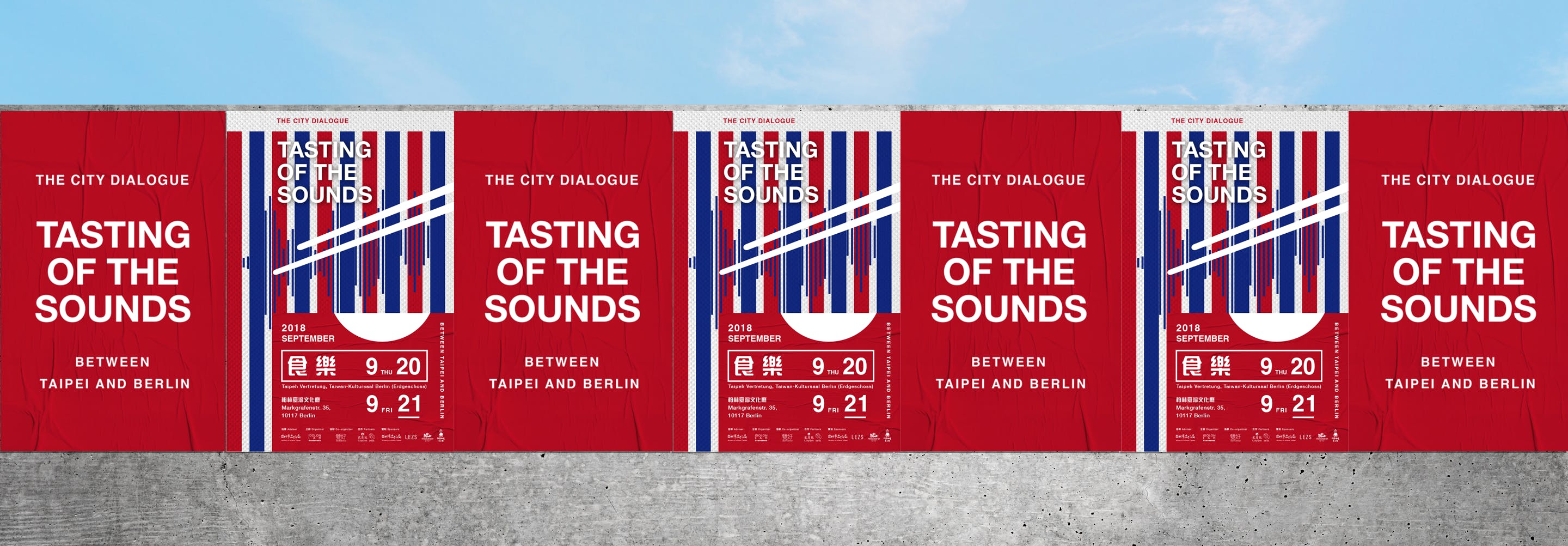 TASTING OF THE SOUNDS  STREET NOODLE STAND &