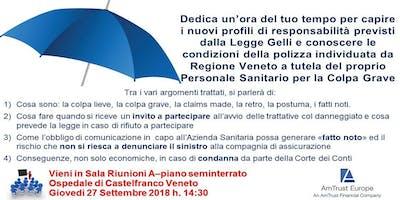 La Colpa Grave nella professione sanitaria della Regione Veneto