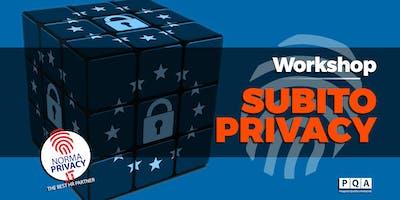 Subito Privacy - Workshop - Gonzaga (MN)