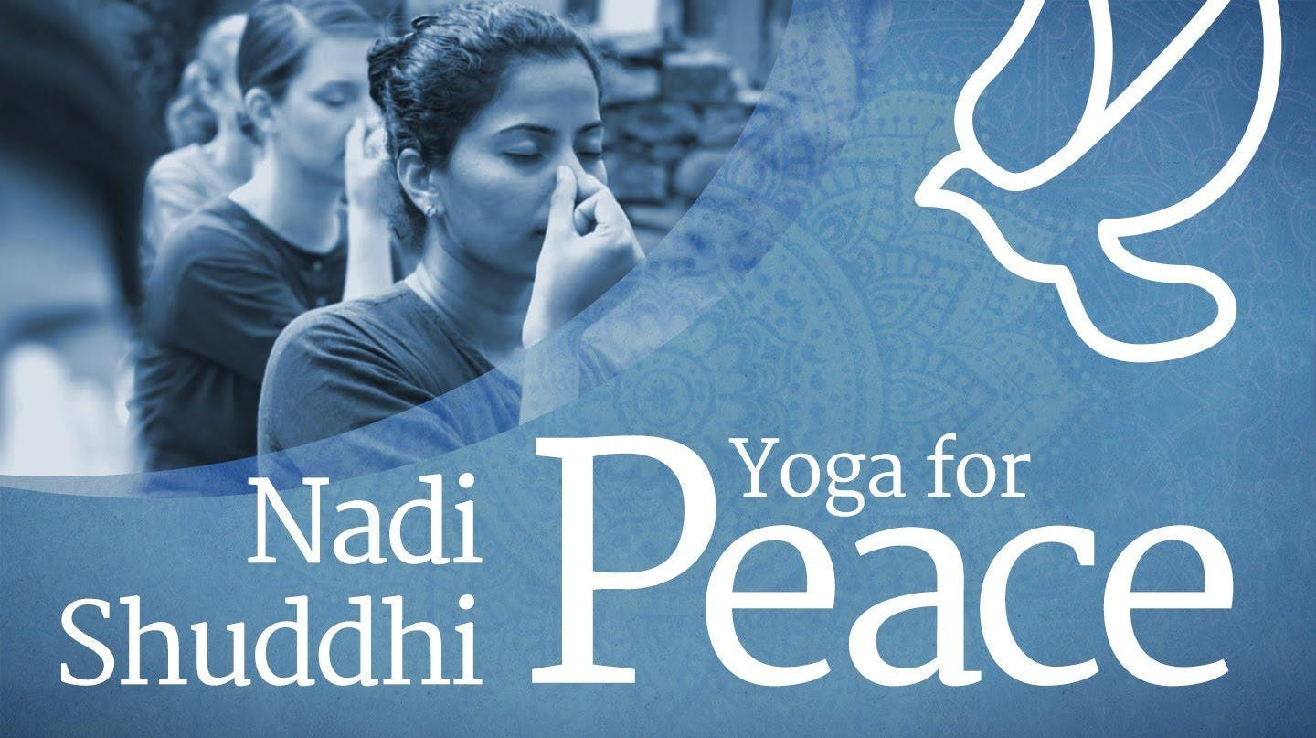 Yoga For Peace - Free Session in Bern (Switzerland)