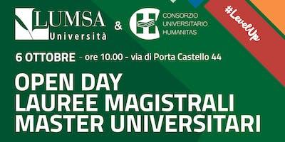 Open Day Magistrali e Master