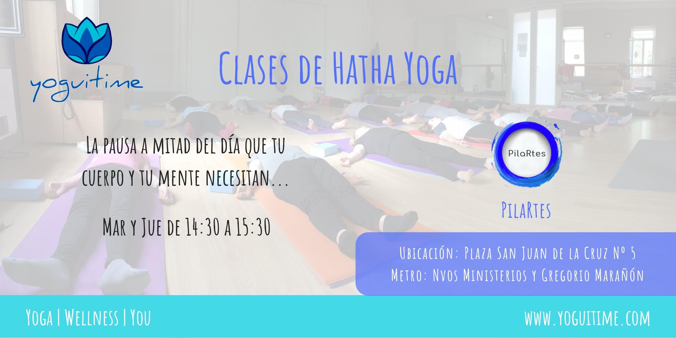 Hatha Yoga en Nuevos Ministerios - Medio Día