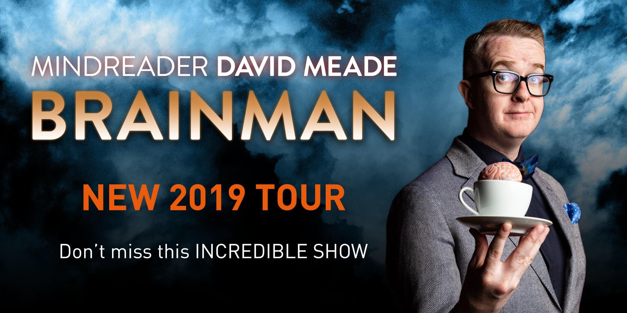 David Meade Mindreader: BRAINMAN - Newry, Town Hall