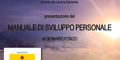Presentazione del libro Manuale di sviluppo personale di Gennaro Ponzo