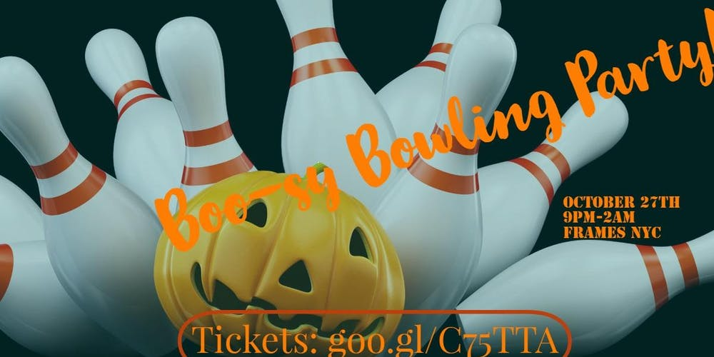 Boo-zy Bowling Halloween Party! Tickets, Sat, Oct 27, 2018 at 9:00 ...