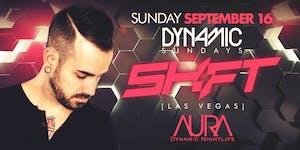 Aura Sunday with DJ Shift  09.16.18 