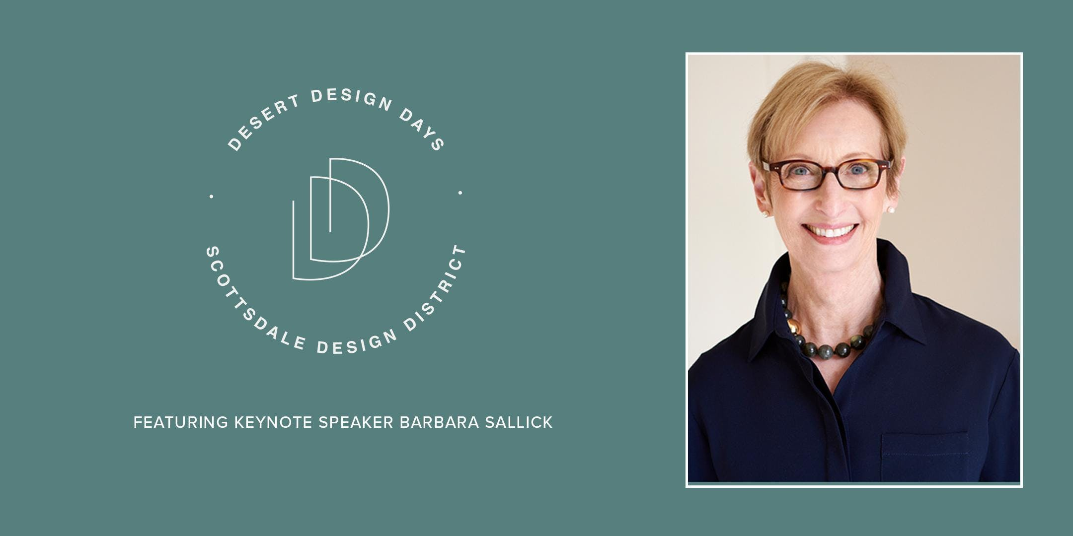 Desert Design Days: Barbara Sallick