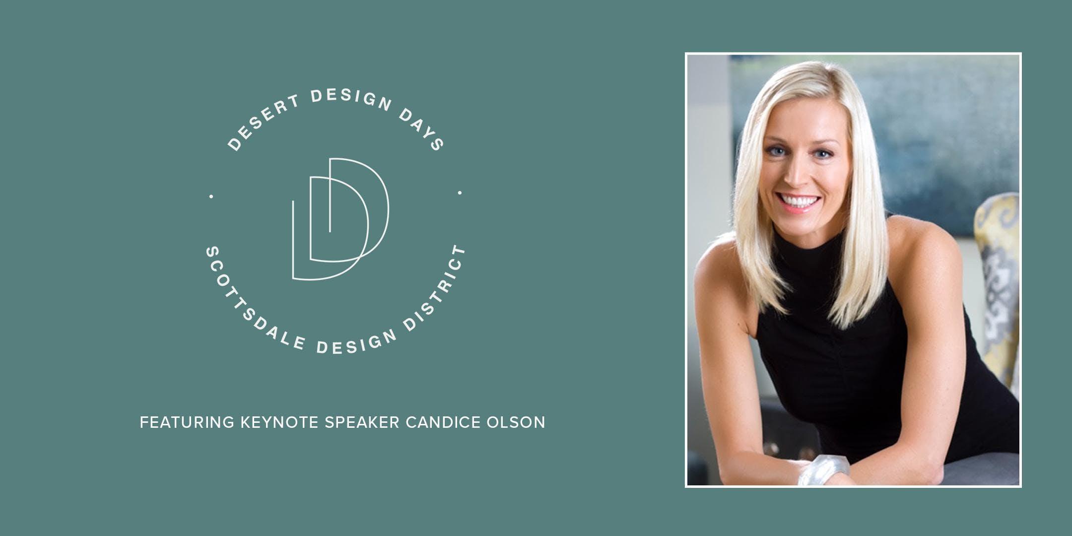 Desert Design Days: Candice Olson