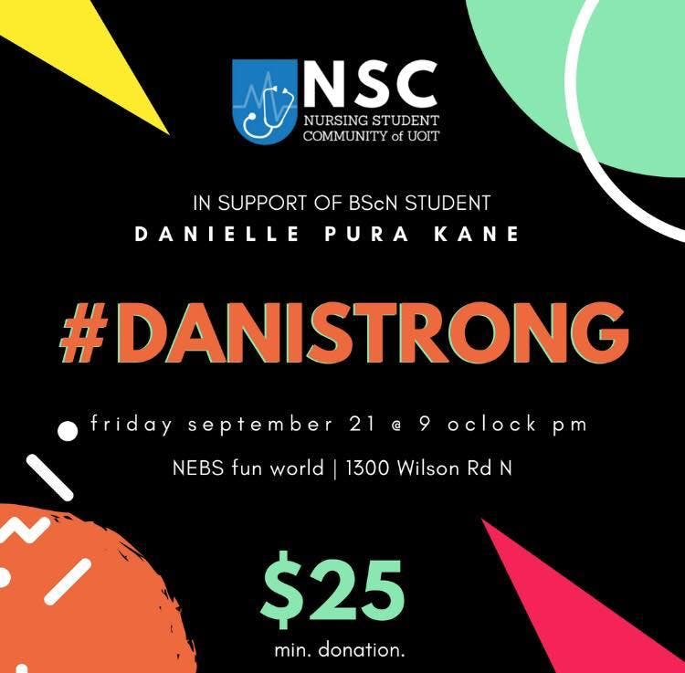 #danistrong Bowling Fundraiser