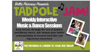 TADPOLE JAM at Little Footprints Session #4